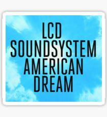 'American Dream' Album Art Sticker