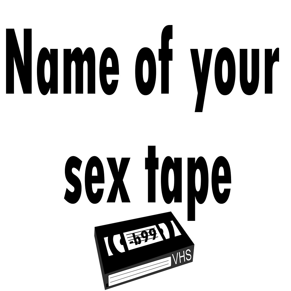 Name of Amy's sex tape by kittykarnstein