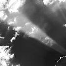 Eastern Sky In B&W by Chet  King
