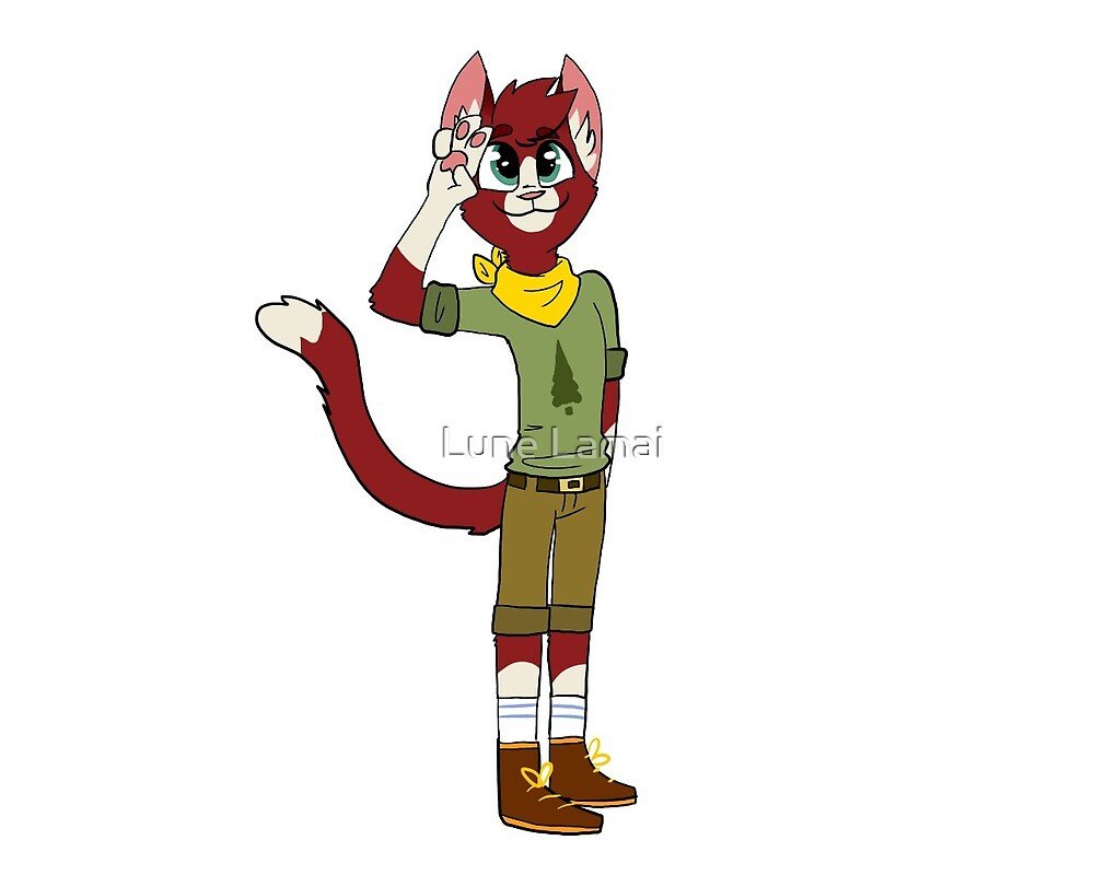 Campe Diem! - David as a Cat by Lune Lamai