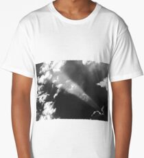 Eastern Sky In B&W Long T-Shirt