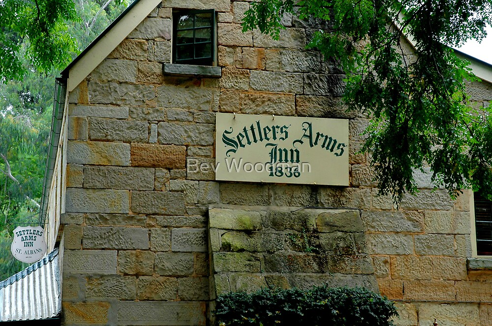 The Settlers Arms Inn - St Albans NSW by Bev Woodman