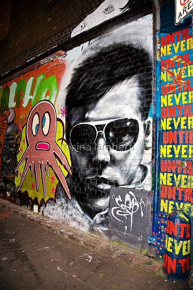 Hosier Lane,Melbourne-2007 by Rosina  Lamberti