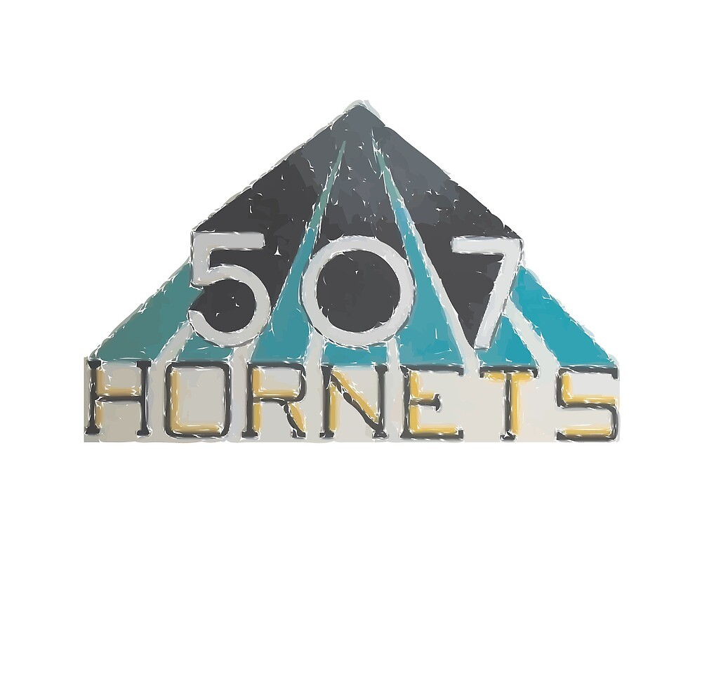 Vintage 507 Hornets Logo by njbelluso