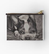 Dear Old Boston on Her Pillows Studio Pouch