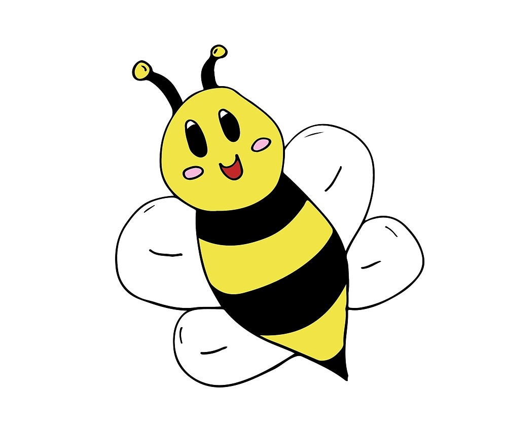 Cartoon Bumble Bee by meowkenz95