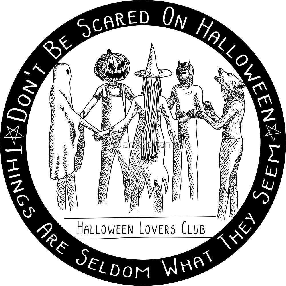 Halloween Lovers Club by Static Cow