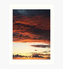 A Sky to Dream On Art Print