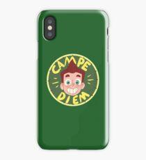 David Campe Diem Badge iPhone Case/Skin