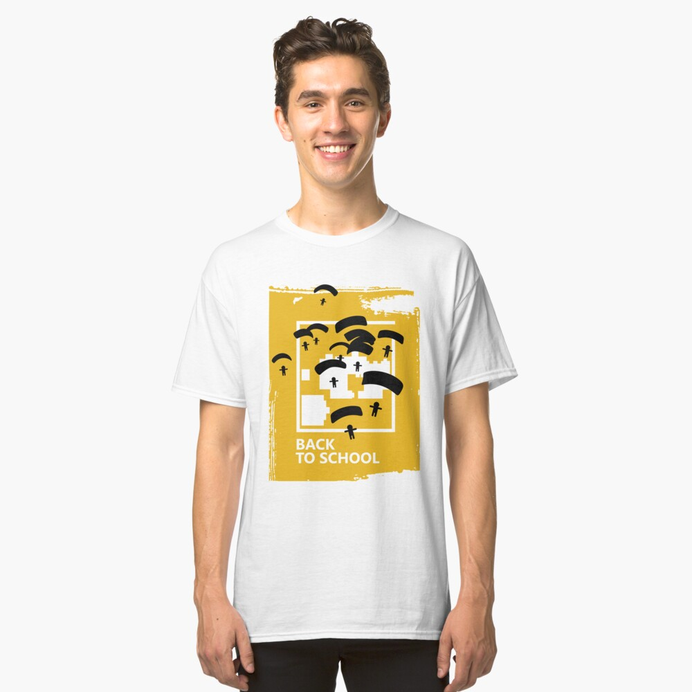 Back to school Classic T-Shirt Front