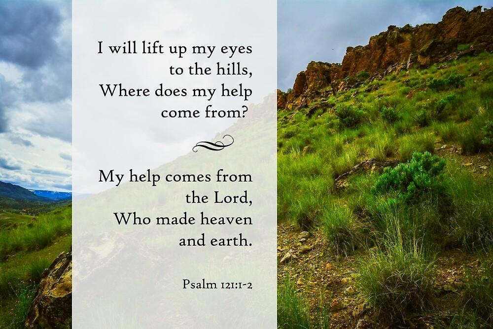 Psalm 121 by hawkshavenphoto