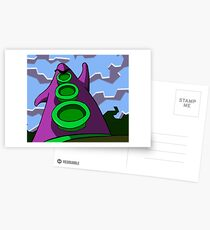 Day of the Tentacle Postcards