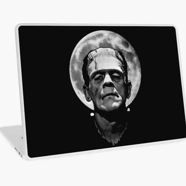 Frankenstein Moon Laptop Skin
