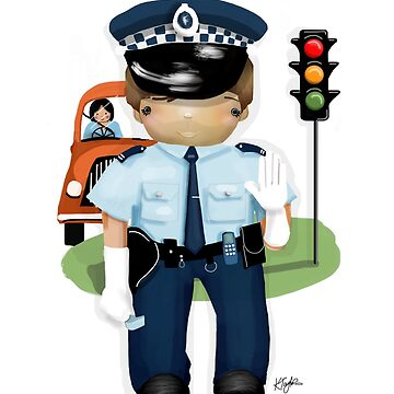 The Little Policeman by karin