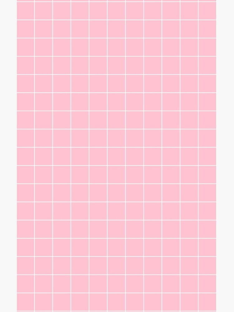 Pink Grid by LazyQueen