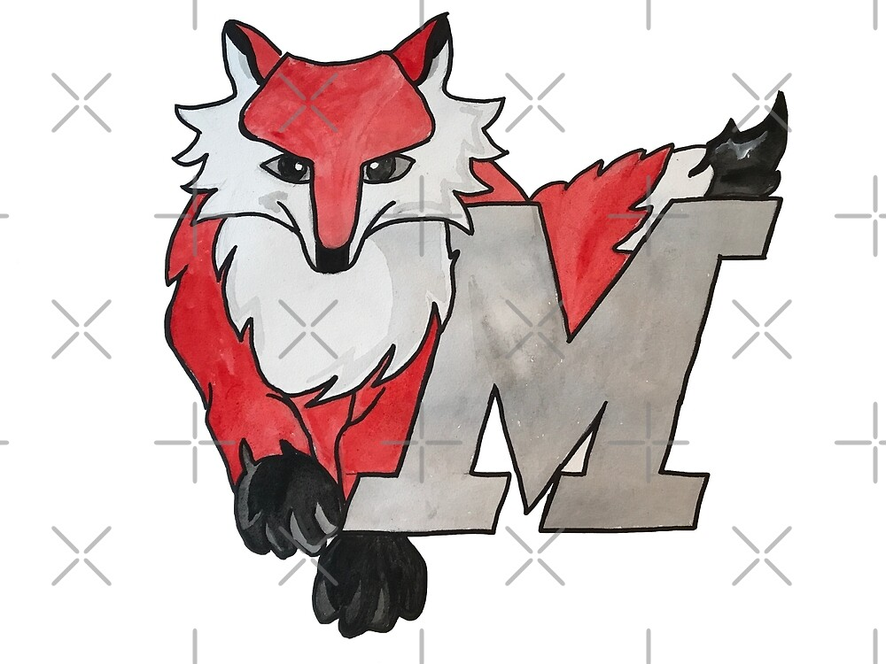 Marist Watercolor by Designs By S&C