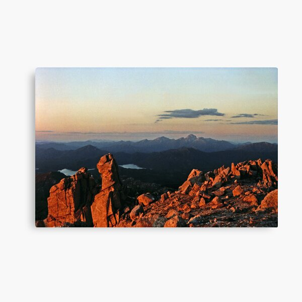 FRENCHMANS CAP FROM MOUNT OWEN. Canvas Print