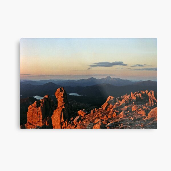 FRENCHMANS CAP FROM MOUNT OWEN. Metal Print