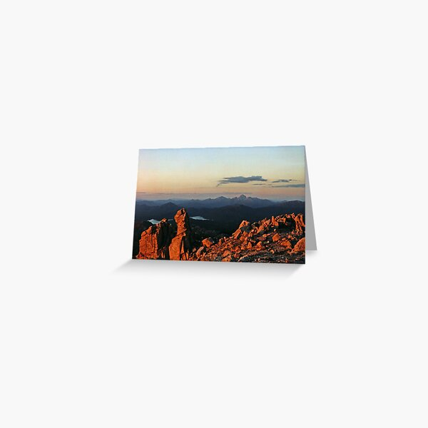 FRENCHMANS CAP FROM MOUNT OWEN. Greeting Card