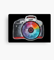 Colorful Lens Photography Canvas Print