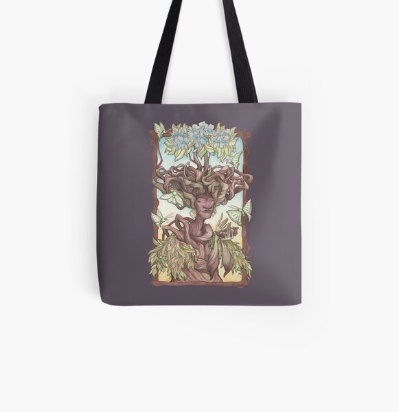 Yavanna: Queen of the Earth, Giver of Fruits All Over Print Tote Bag