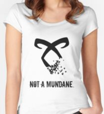 Shadowhunter. Women's Fitted Scoop T-Shirt