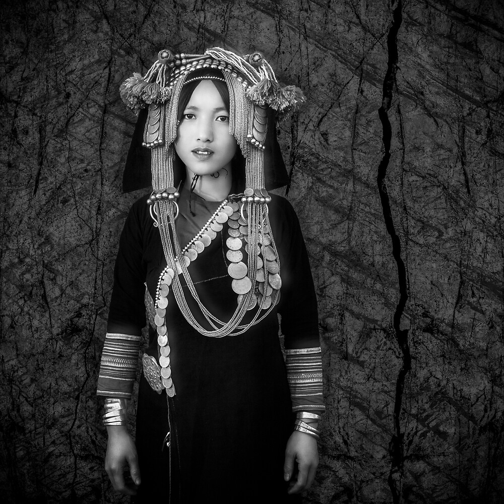 Akha Hill Tribe Innocence by Glen Allison