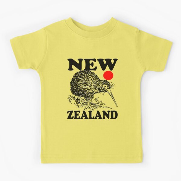 NZ-KIWI Camiseta para niños