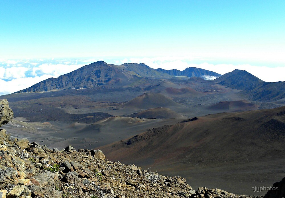 Haleakala volcano Maui by pjyphotos