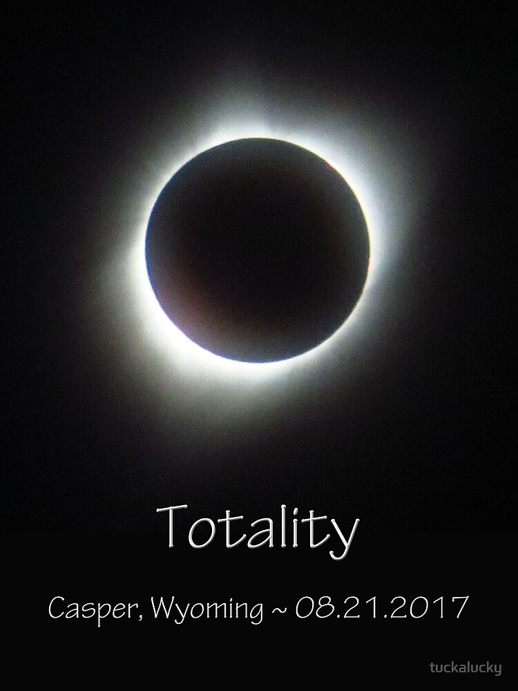 Totality Photo of the 2017 Solar Eclipse by tuckalucky