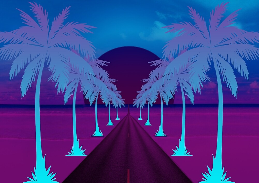 Beach Road to PARADISE  by Wight