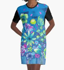 The Garden II Graphic T-Shirt Dress