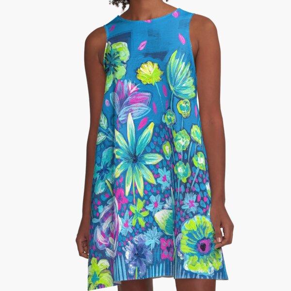 The Garden II A-Line Dress