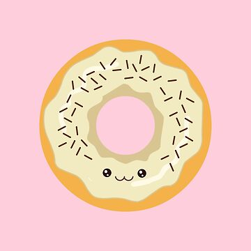 Creamy Kawaii Donut by AnishaCreations