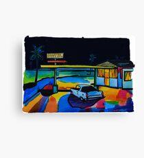 Road story. Motel Canvas Print