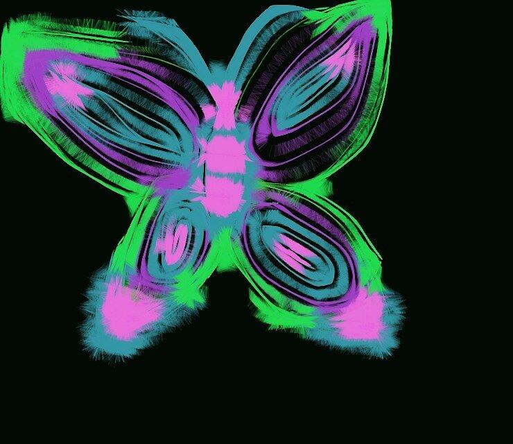 Beautiful Butterfly by KawaiiChibi