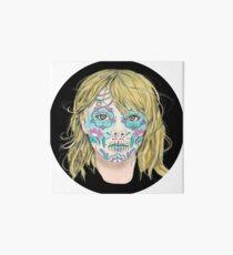 Sugar Skull Girl Art Board