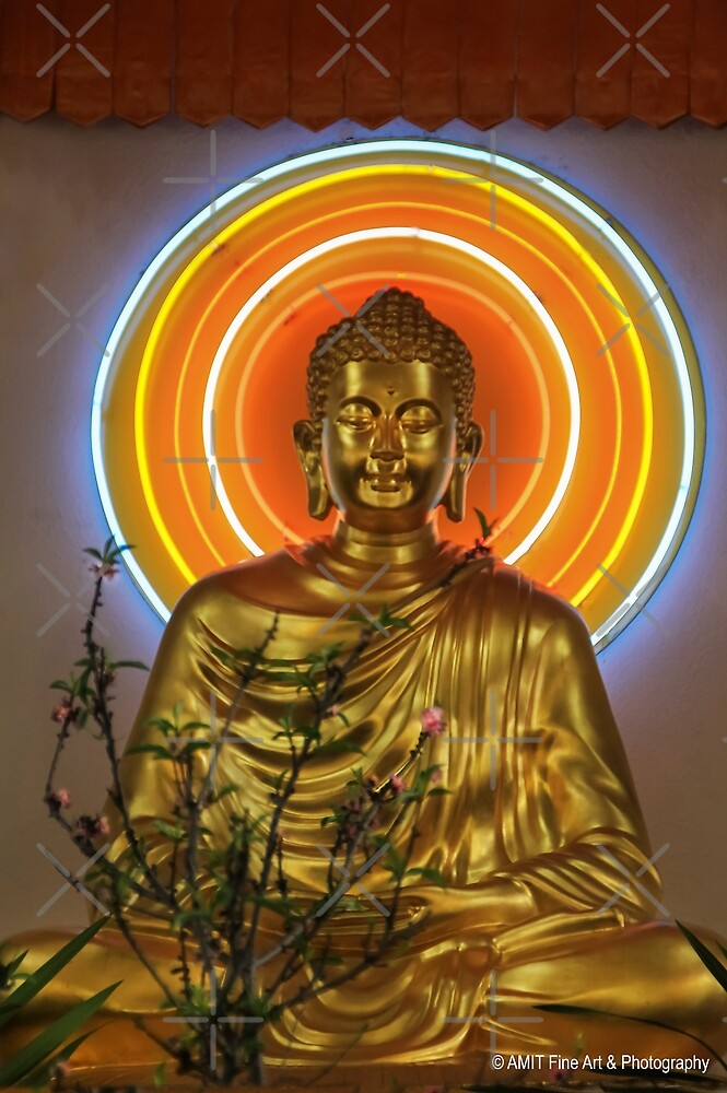 Buddha Smiles Upon the New Year by Heather Friedman