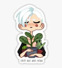 Chill Out and Relax Sticker
