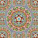 Fiesta Mandala by PatriciaSheaArt