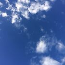 White Clouds In A Blue Sky by silverdragon