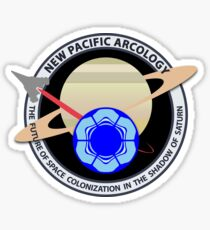 New Pacific Arcology Sticker