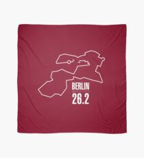 The route of the Berlin Marathon Scarf
