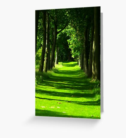 The Avenue - Thorp Perrow Greeting Card