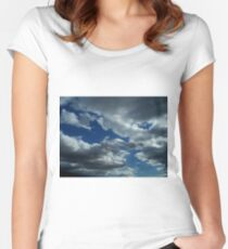 Blue Sky Future - Nature Women's Fitted Scoop T-Shirt