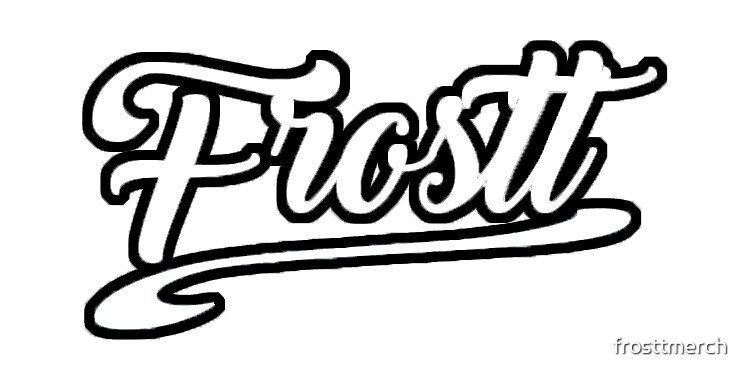 Frostt black white by frosttmerch