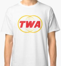 TWA - Trans World Airlines - Defunct Airline Logo Classic T-Shirt