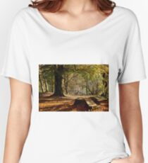 Nature - Woods and Leaves Women's Relaxed Fit T-Shirt