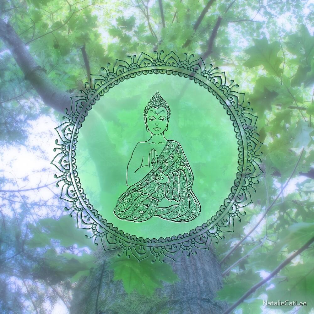 Heart Chakra Nature Buddha by NatalieCatLee