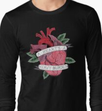 A Heart's A Heavy Burden - Howl's Moving Castle  Long Sleeve T-Shirt